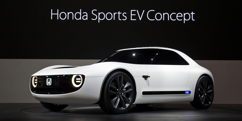 Honda Sports Ev Concept  Photos, Details On Honda's New