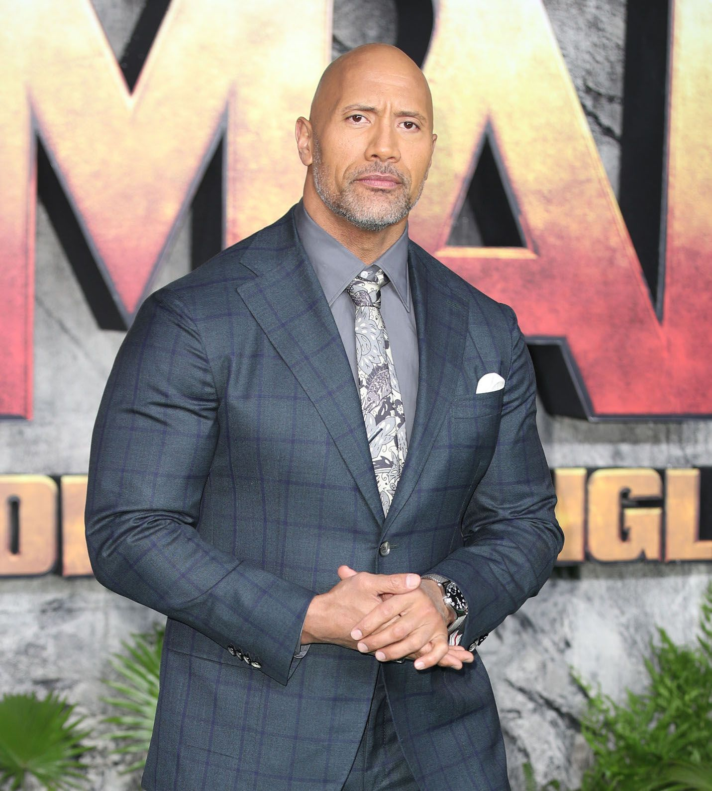 """Photo of The Rock asks Donald Trump """"Where are you?"""" Where's our chef? in an emotional video message"""