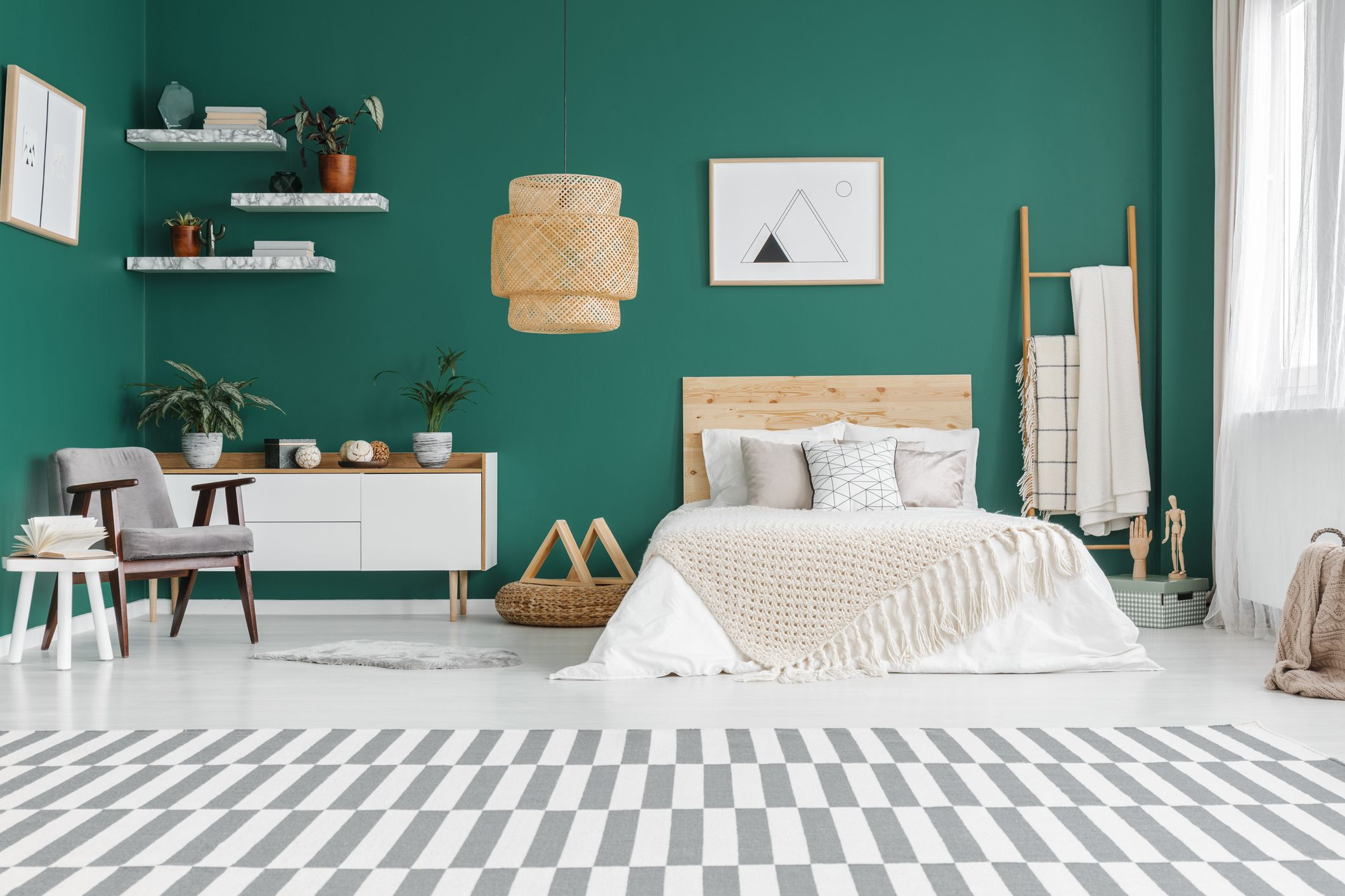 Green Has Been Revealed As The Best Bedroom Colour For A Good Night S Sleep