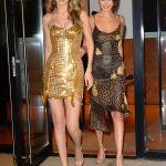 Gigi Hadid Sizzle in Gold for 23rd Birthday