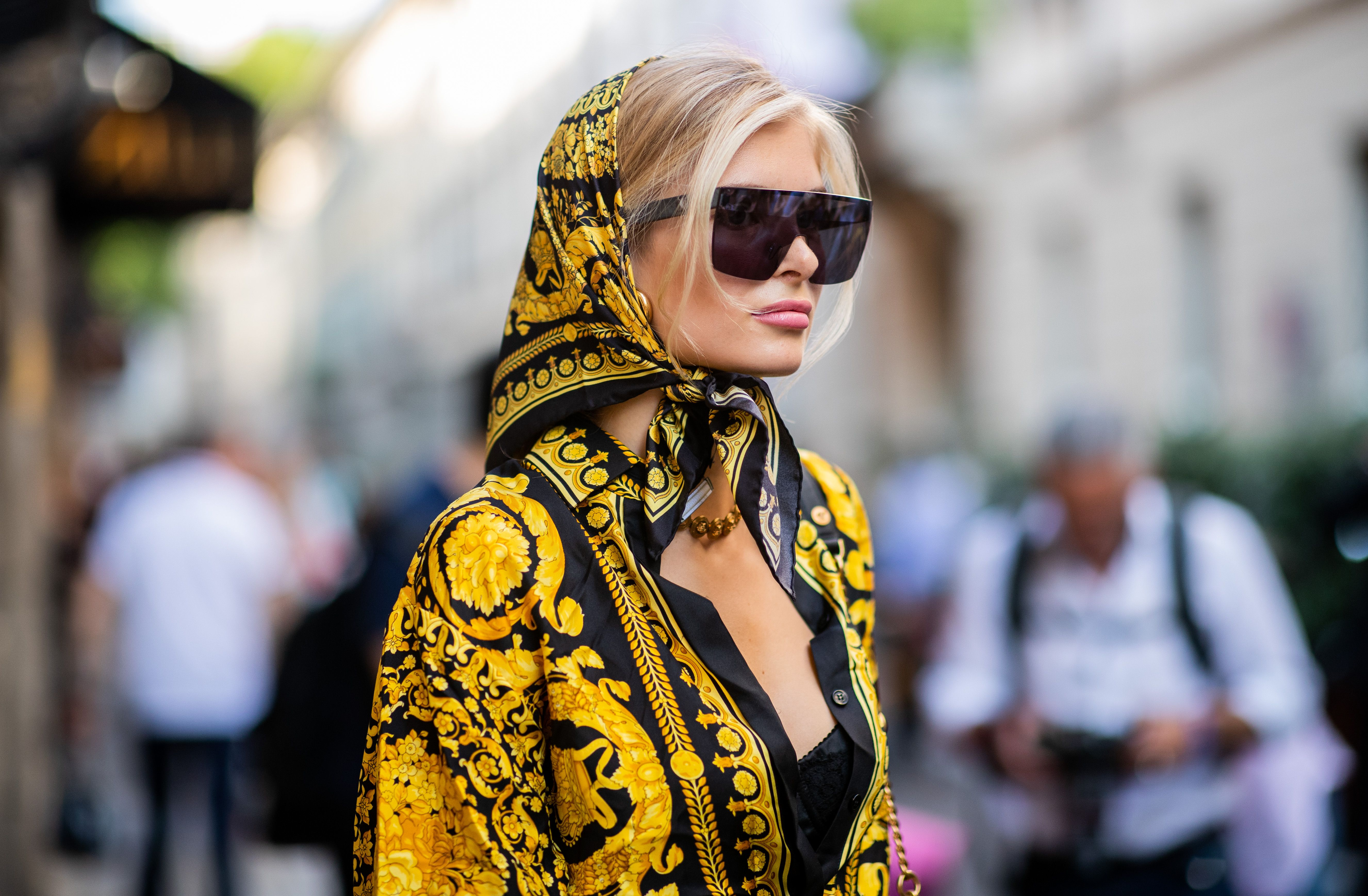 How To Wear A Headscarf According To Your Instagram Faves