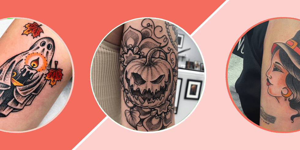 In fact, this is the only tattoo i've ever seen that i've liked (excepting my dad's faded anchor tattoo he got in the navy in the 50s). 30 Best Halloween Tattoos Cute And Scary Halloween Tattoo Ideas