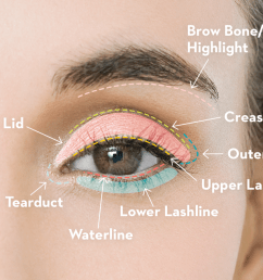 the complete guide to applying eye makeup [ 1500 x 1000 Pixel ]