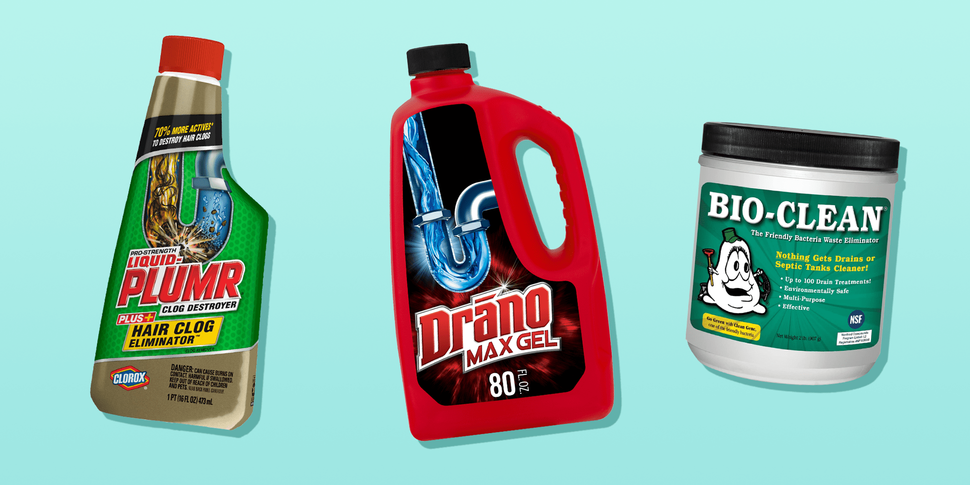 10 best drain cleaners to deal with icky clogs