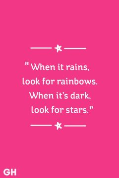 rainbows and stars happy quote