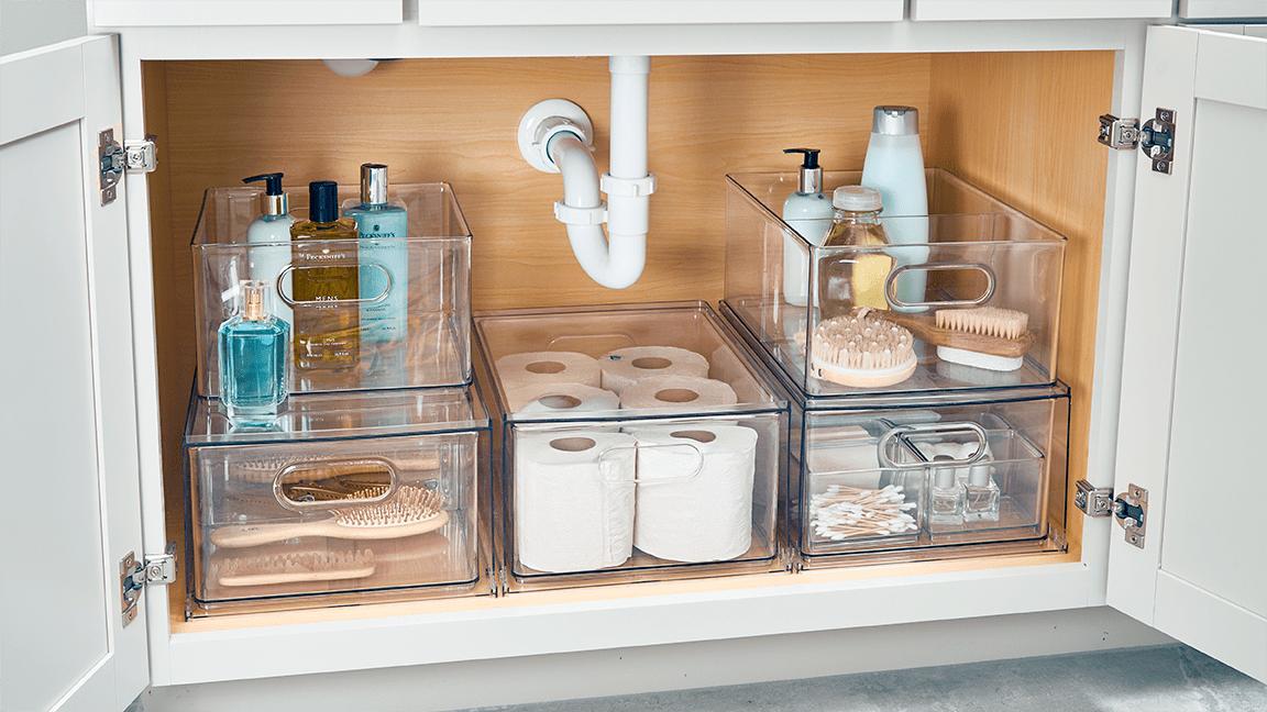 11 genius under the sink storage ideas