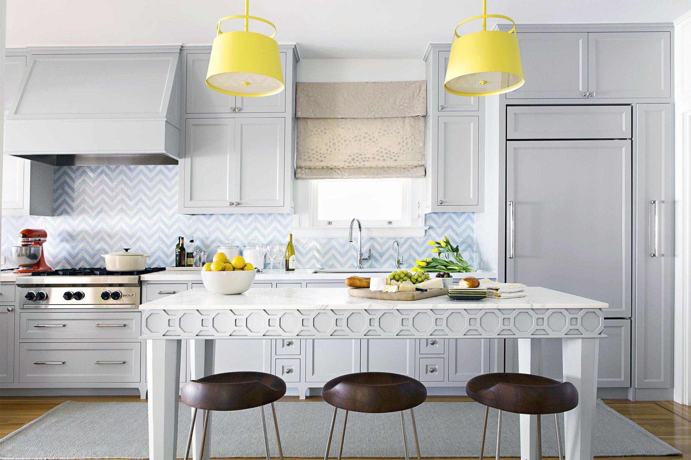 Yellow Kitchen Walls With Black Appliances