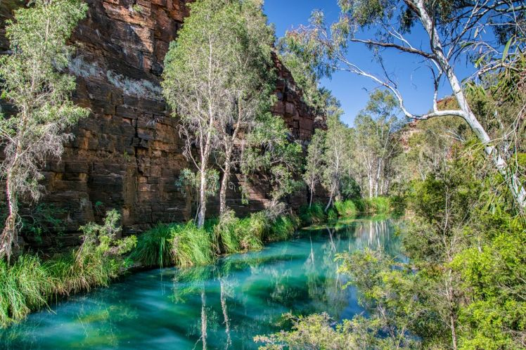 Gorge in Karijini National Park, Western Australia