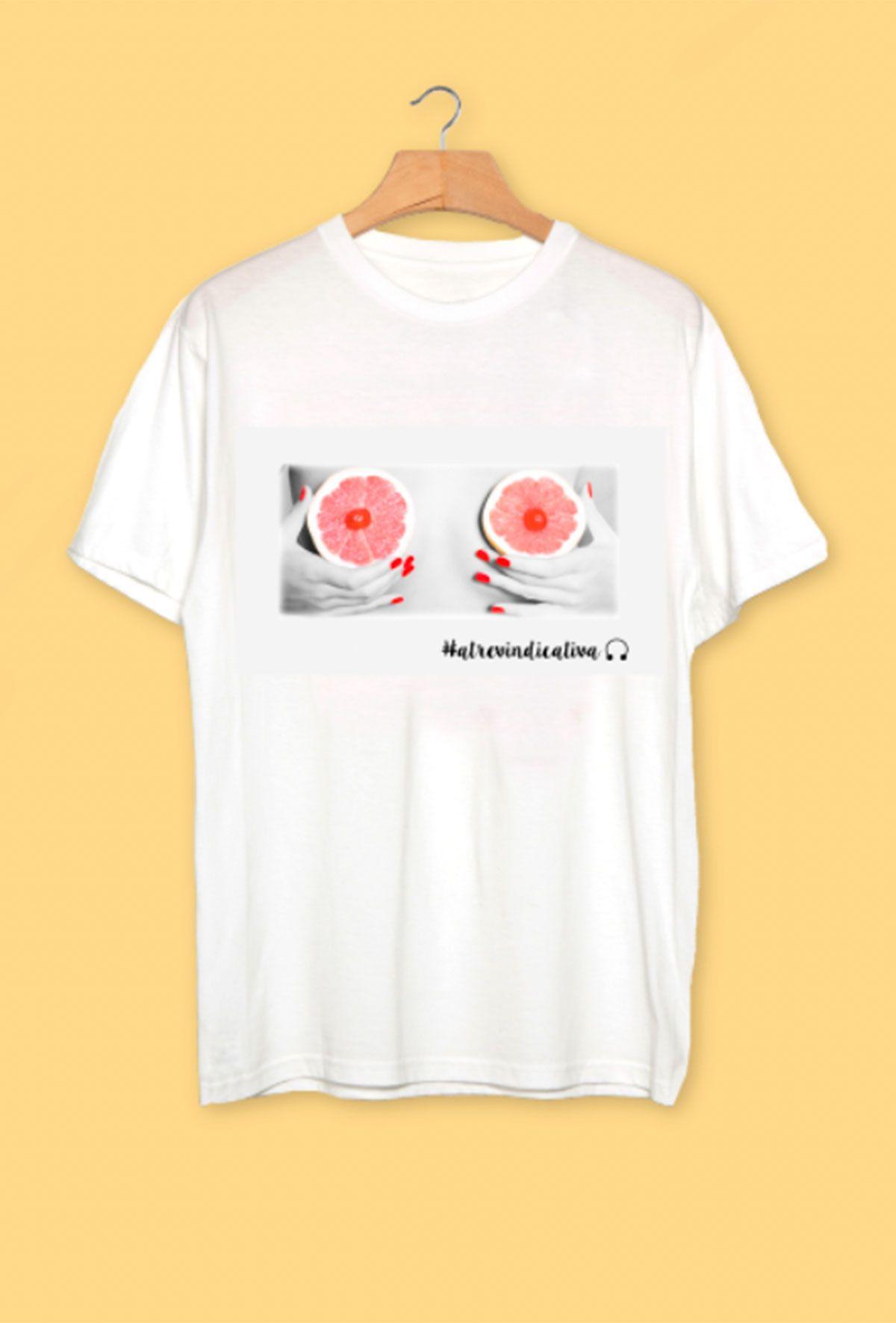 Camisetas pecho atrevindicativa: granada