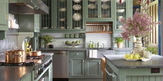 31 Green Kitchen Design Ideas Paint