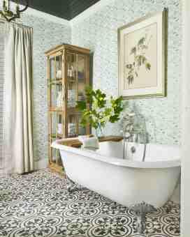 28 Bathroom Wallpaper Ideas Best Wallpapers For Bathrooms