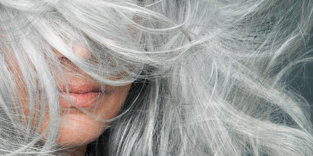 what causes gray hair