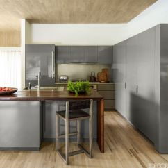 Gray Kitchen Cabinets Frosted Glass For Cabinet Doors 14 Best Grey Design Ideas With
