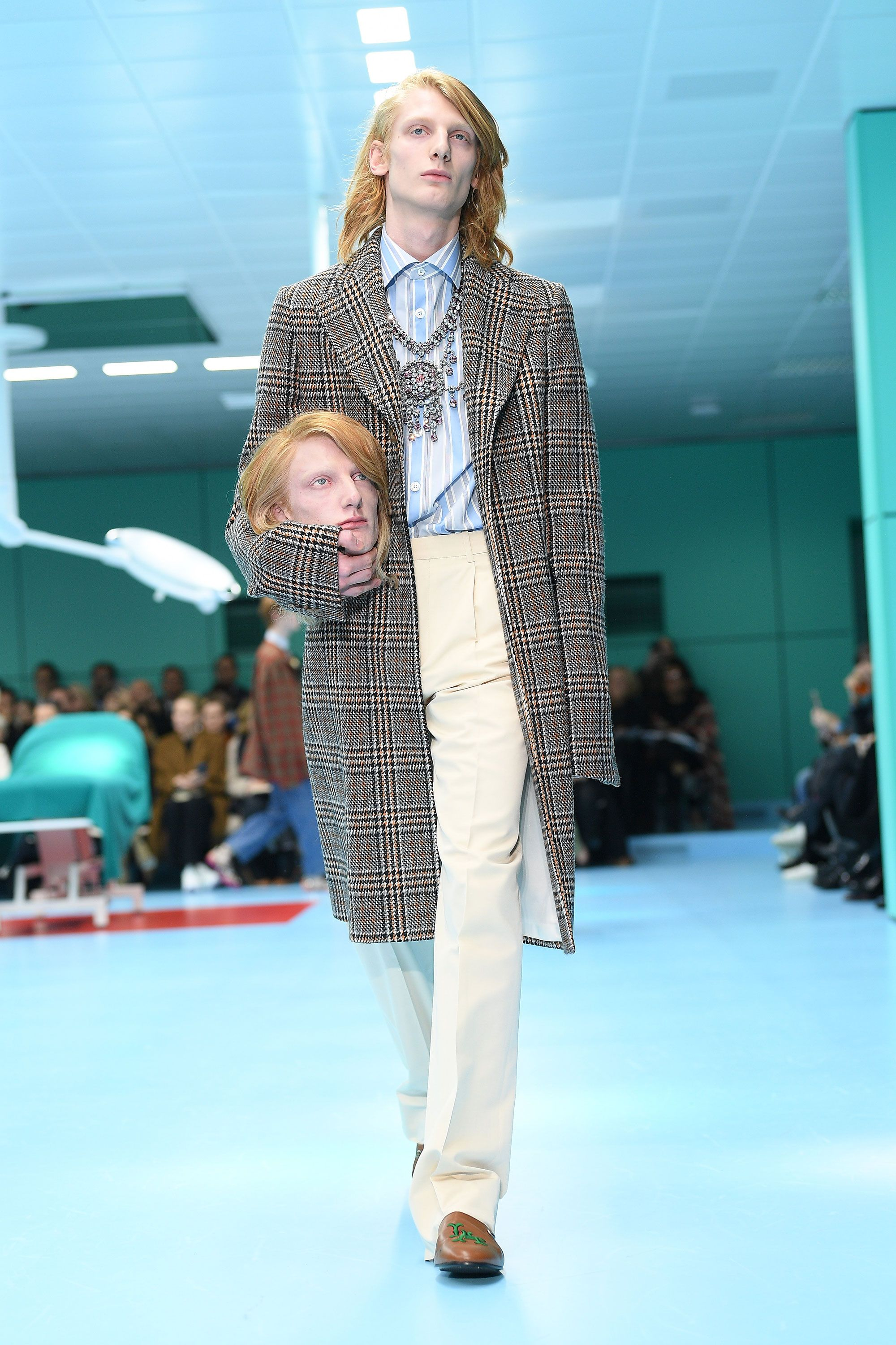Gucci Show Features Models Carrying Severed Heads