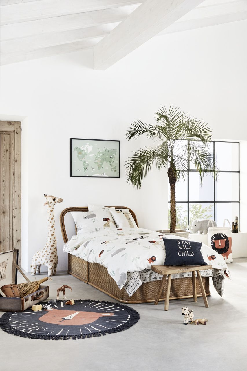 H M Home Launches Playful Safari Themed Children S Bedroom Furniture For Ss19