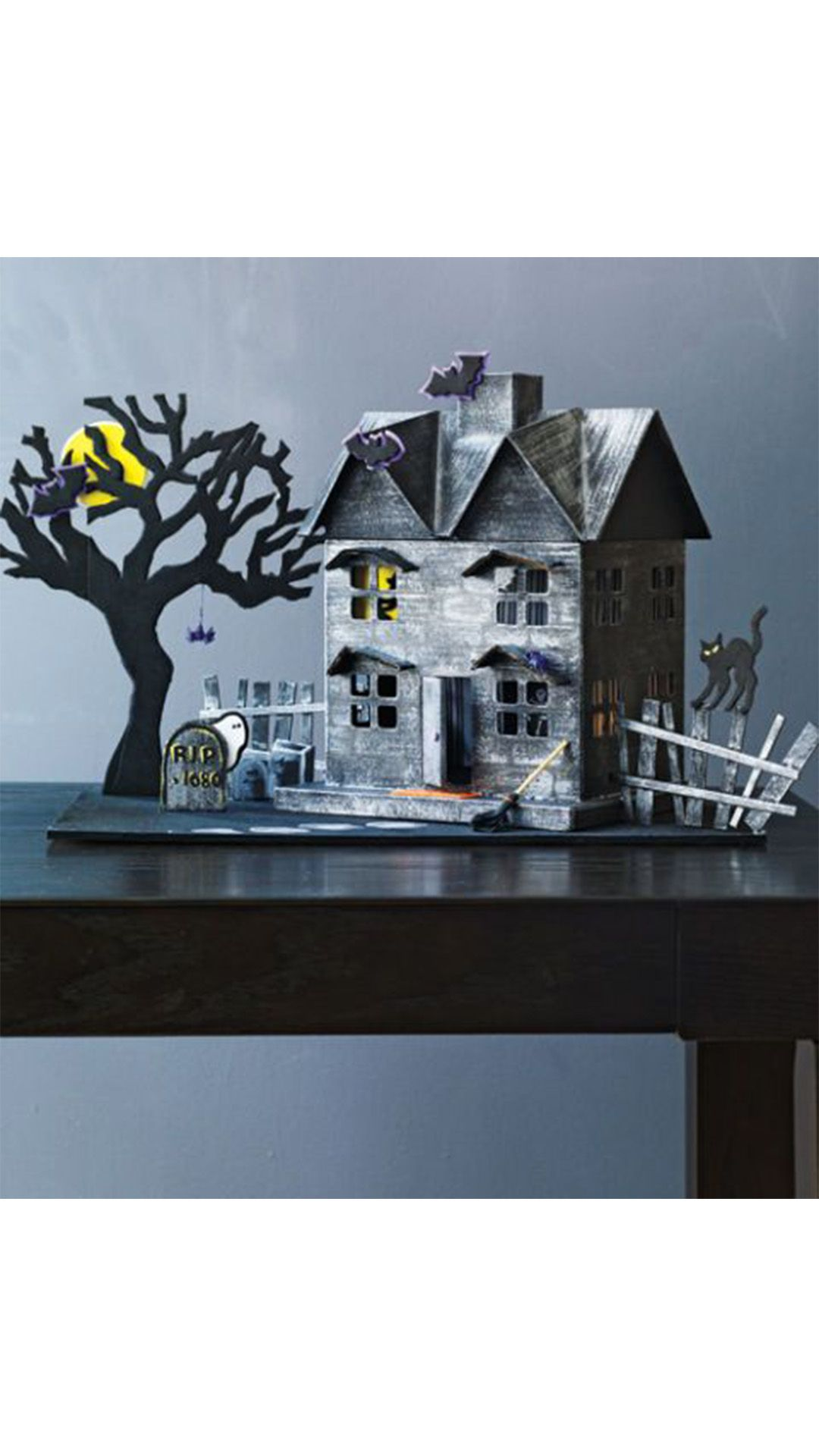 easy halloween decorations haunted house
