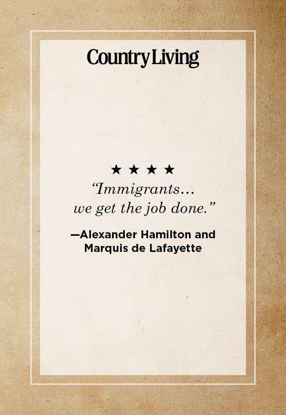 Immigrants We Get The Job Done Hamilton Lyrics : immigrants, hamilton, lyrics, Hamilton, Quotes, Lyrics, Broadway, Musical