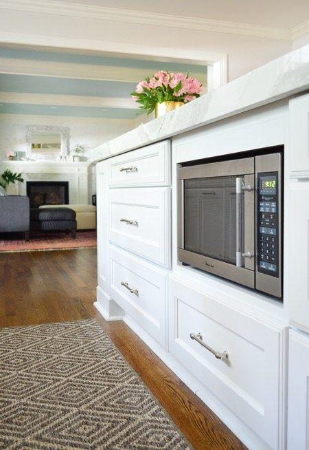 kitchen counter storage hacks