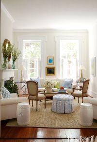 White Living Room Interior Ideas - Furniture Design For ...