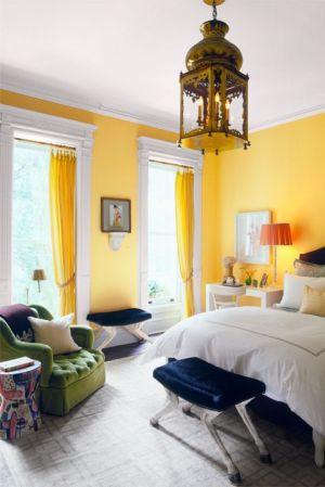bedroom colors paint colour combinations yellow walls bedrooms wake happier schemes amarillo master combination colours bed rooms painting marigold interior