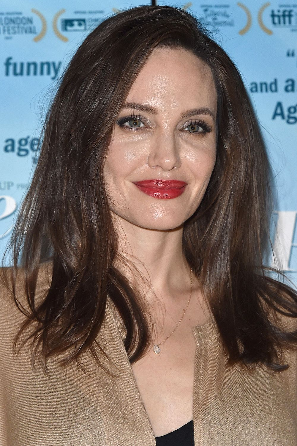 Angelina Jolie Just Cut Her Hair  Angelina Jolie Haircut Inspiration