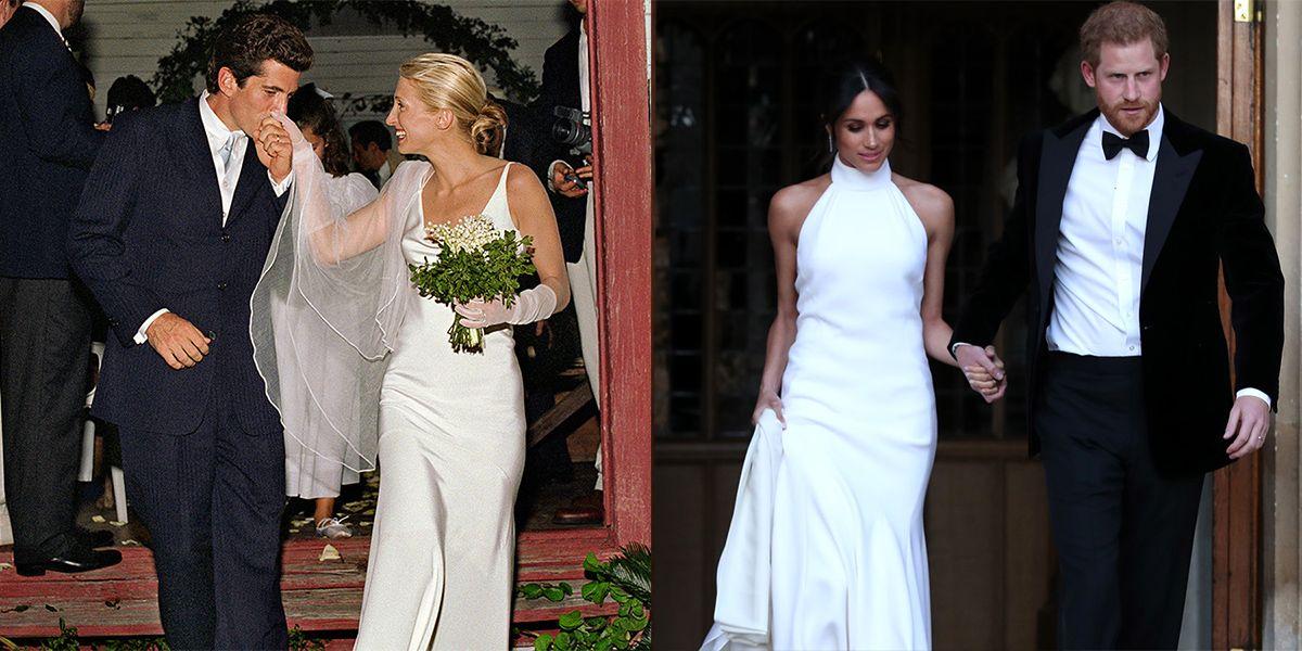 Meghan Markle's Second Wedding Dress Channels Carolyn