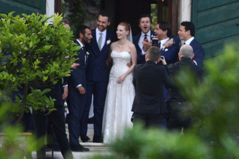 Jessica Chastain Wedding 2