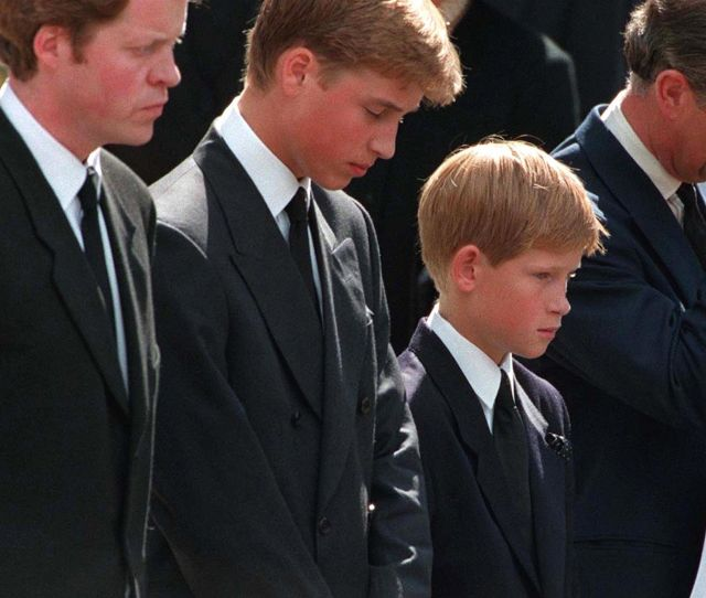 Prince Harry Remembers Heartbreaking Details From Princess Dianas Funeral