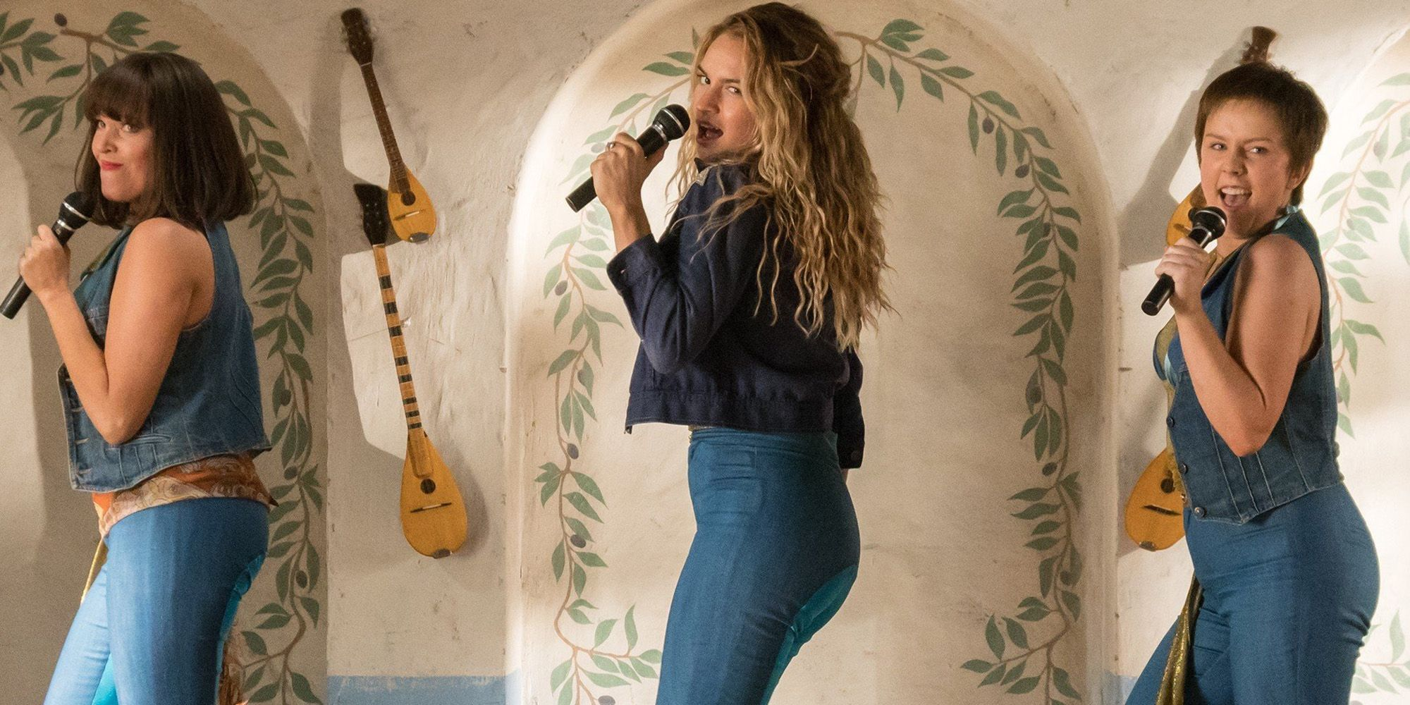 Mamma Mia 2 Clip Shows Lily James Singing As Young Meryl