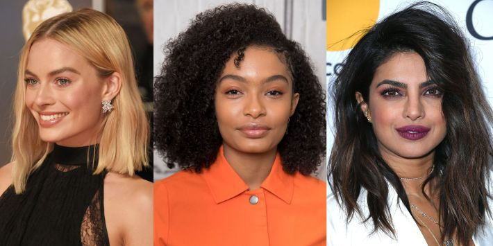 50 best medium hairstyles - celebrities with shoulder length haircuts