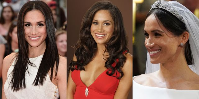 meghan markle's hairstyles through the years - meghan