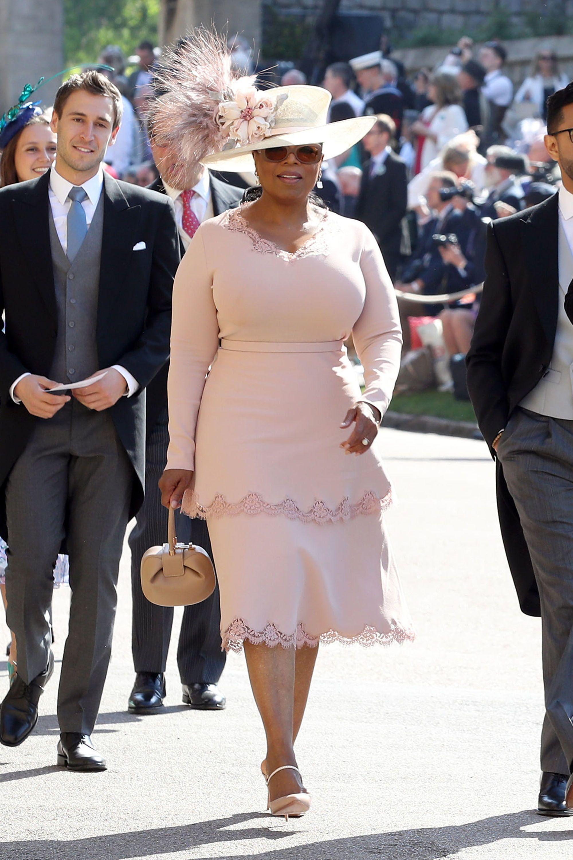 Oprah Wears Stella McCartney To Royal Wedding Oprah