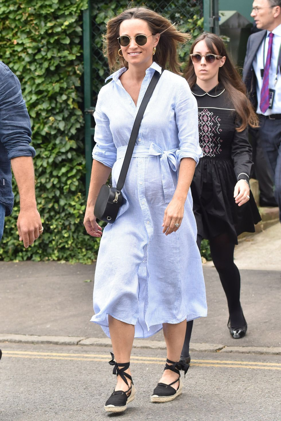 Pippa Middletons Best Maternity Outfits  Pippa Middleton