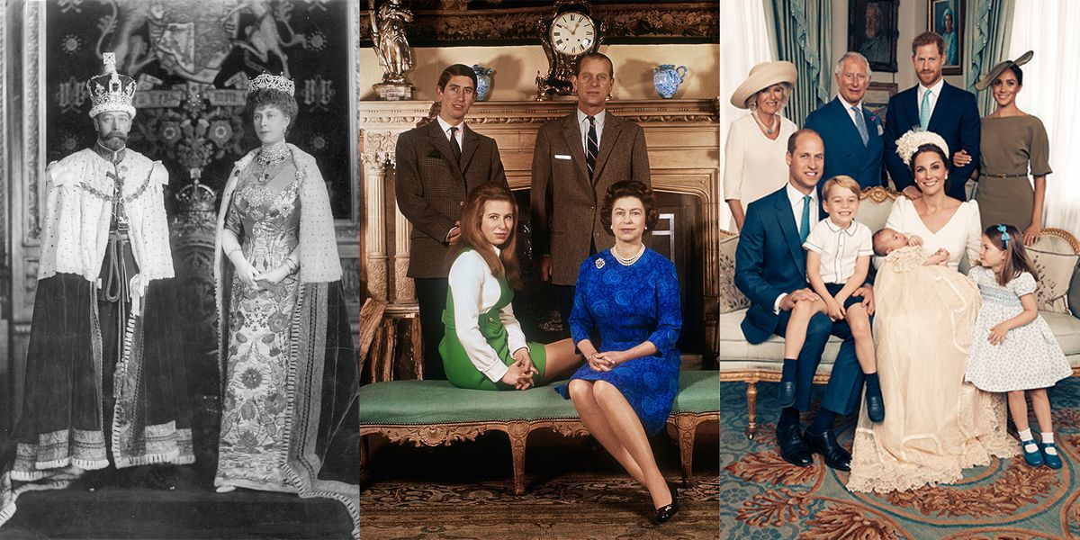 British Royal Family Portraits Official Portraits Of The Royal Family