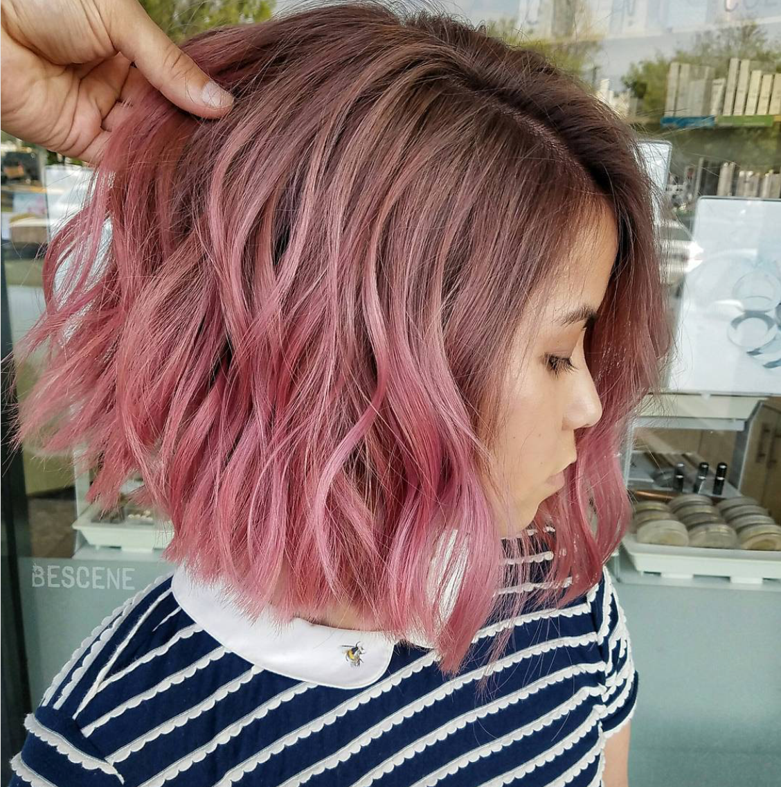 10 short ombré hairstyles