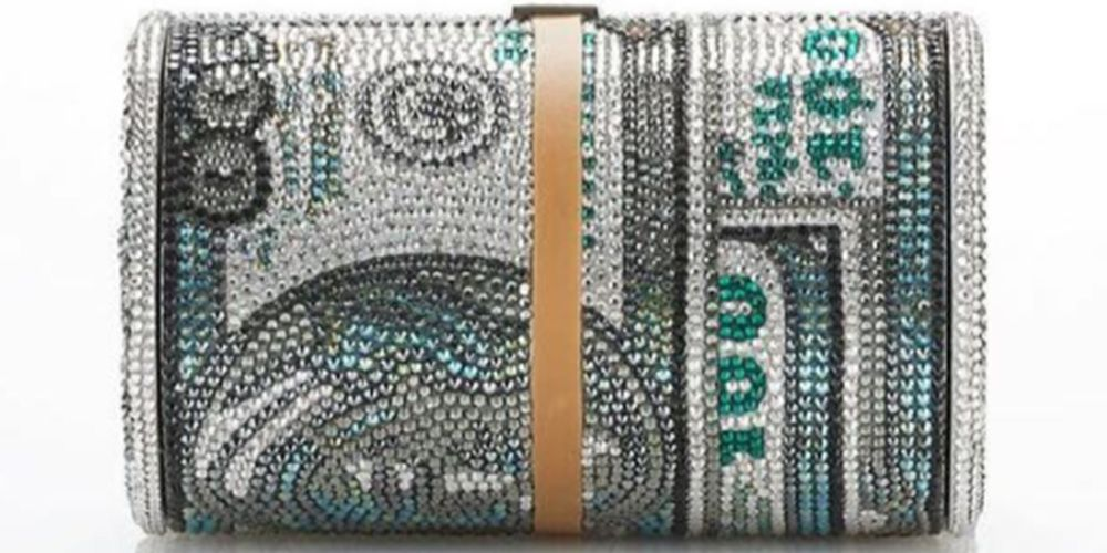 Alexander Wang And Judith Leiber Collaborate On 100 Bill Bag Alexander Wang 100 Dollar Bill Bag