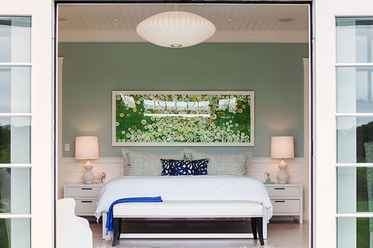 Our editors independently research, test, and recommend the best products; 22 Green Bedroom Design Ideas For A Fresh Upgrade