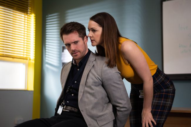 Sienna Blake and Laurie Shelby, Hollyoaks