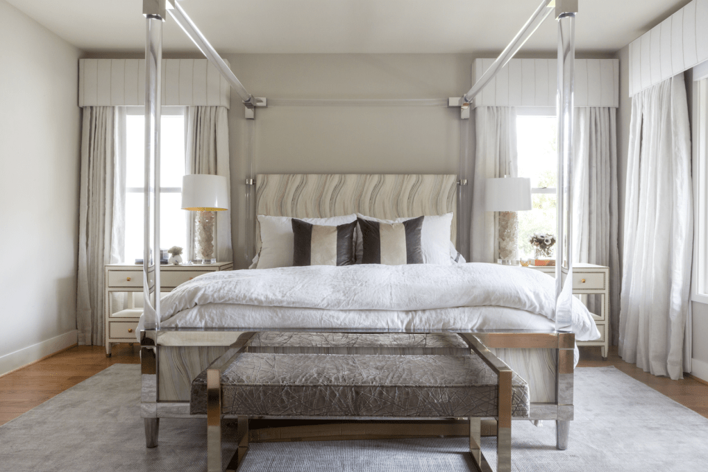 home decor trends 2020 - canopy bed