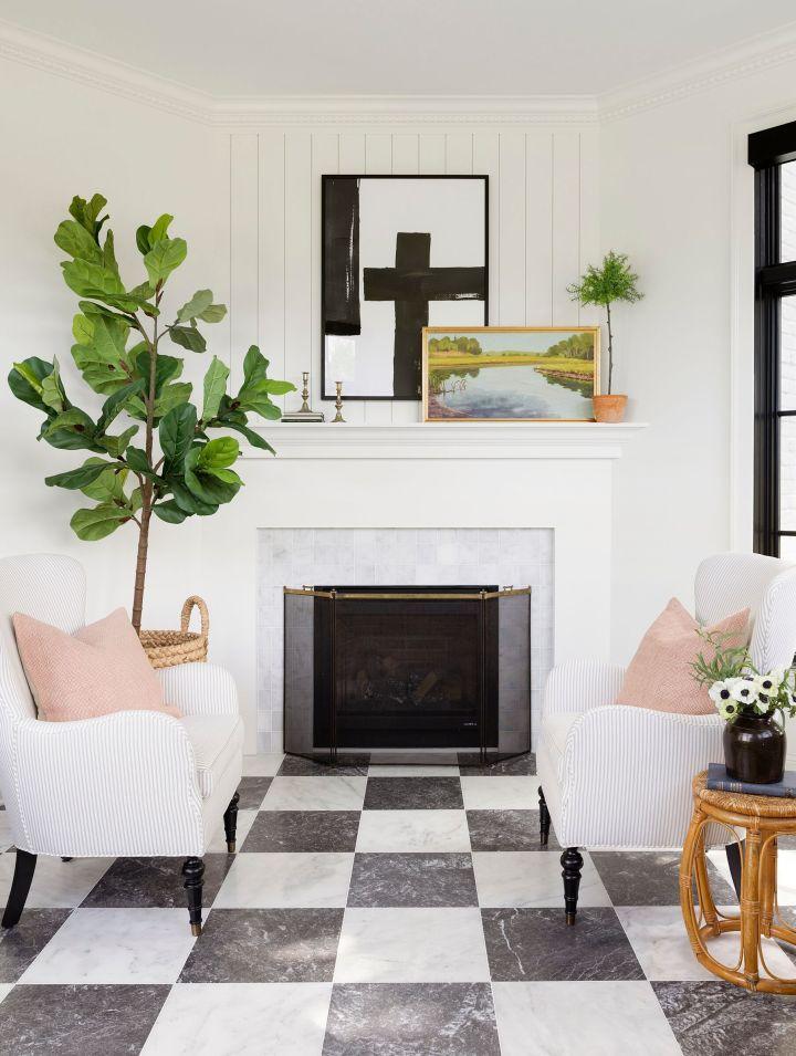home decor trends 2020 - high contrast