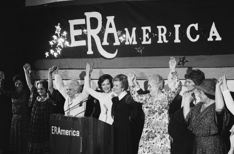 Notable Women Rallying for Equal Rights Amendment