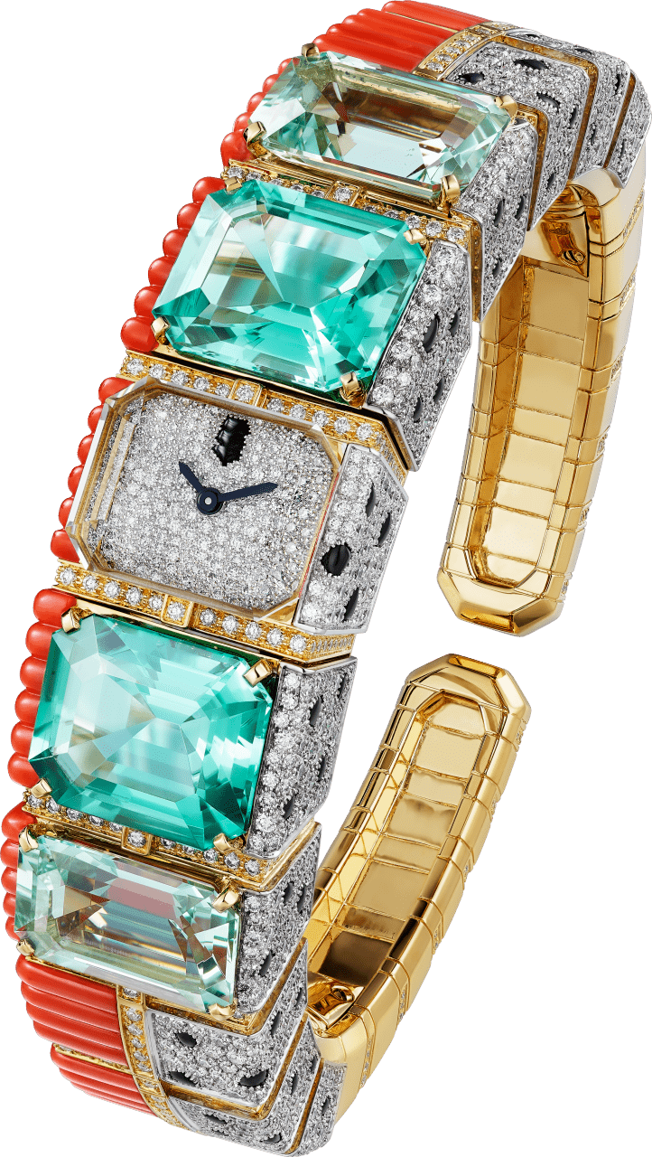 cartier's panthere tropicale timepiece