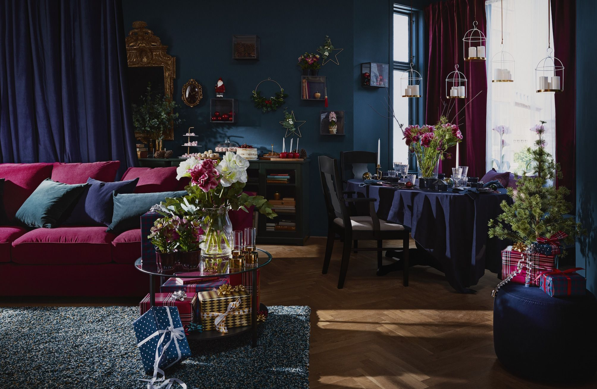 Ikea Christmas First Look At Ikeas Festive Winter Collection