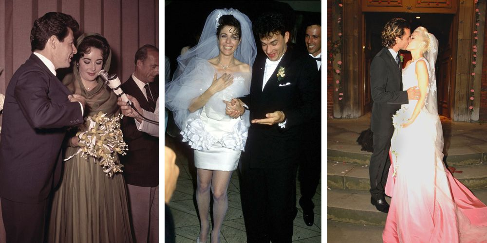 The 30 Most Scandalous Wedding Dresses Of All Time
