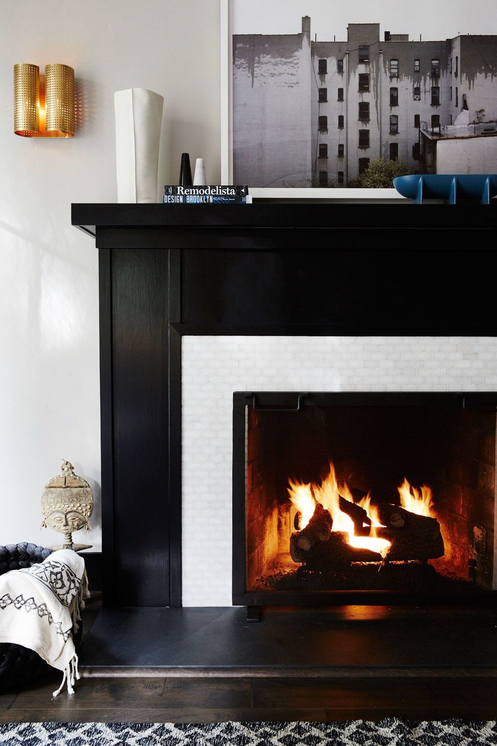 tile designs for your fireplace surround