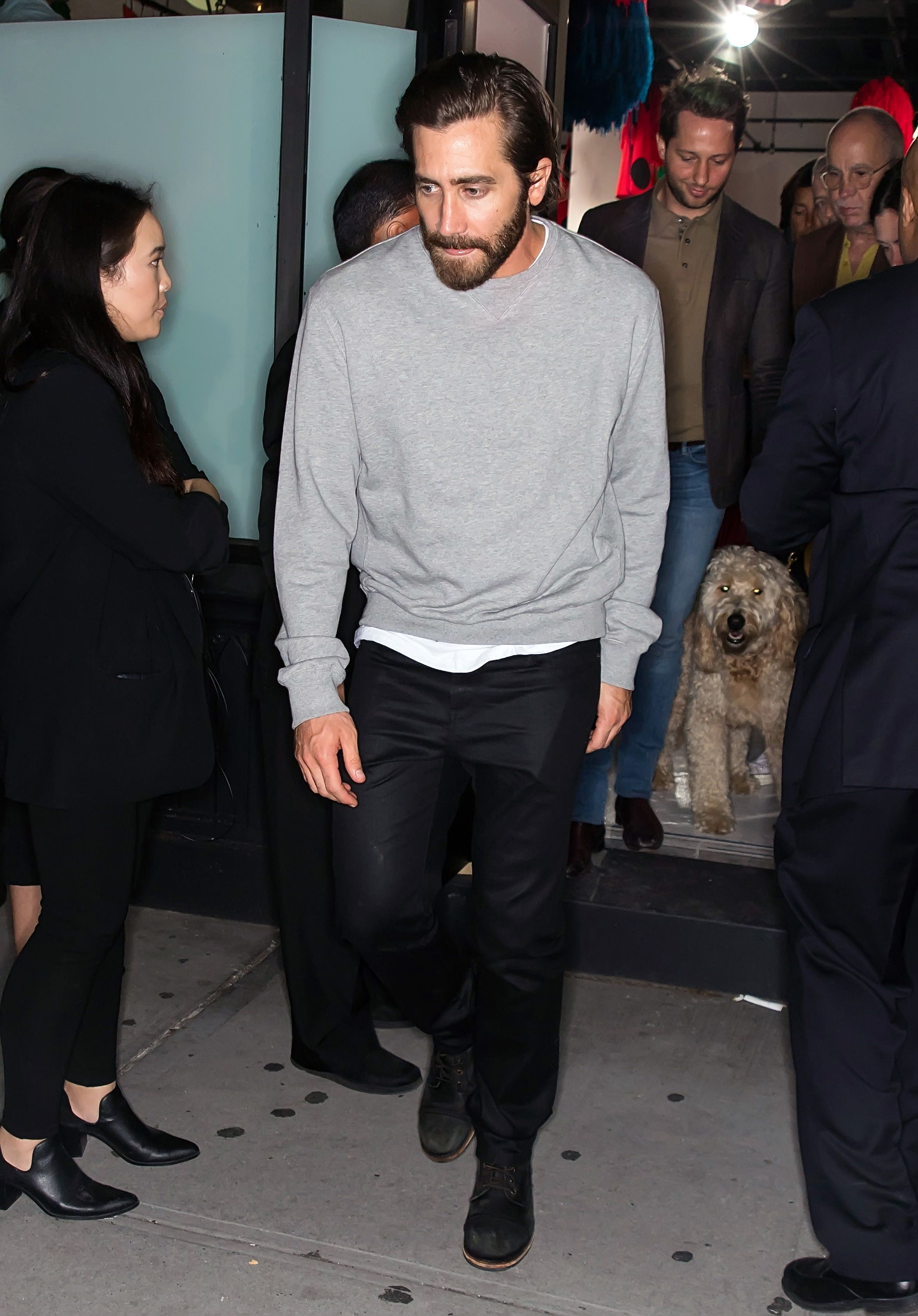 Jake Gyllenhaal Just Proved The Power Of A Great Crewneck