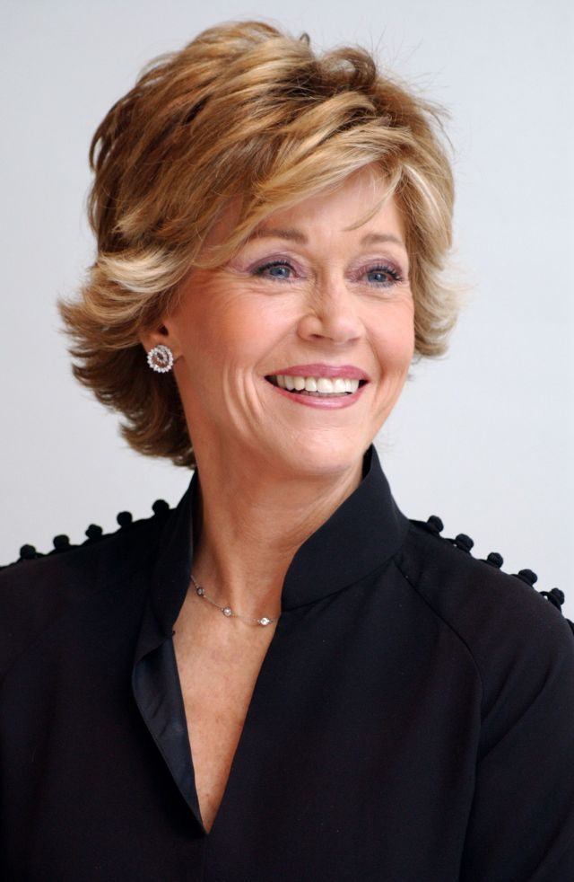 23 iconic jane fonda hairstyles - jane fonda's hair evolution