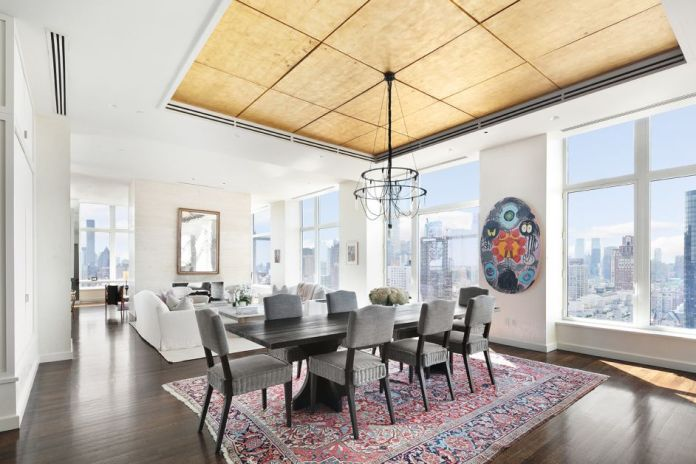The attic of the actress Jennifer Lawrence in Manhattan