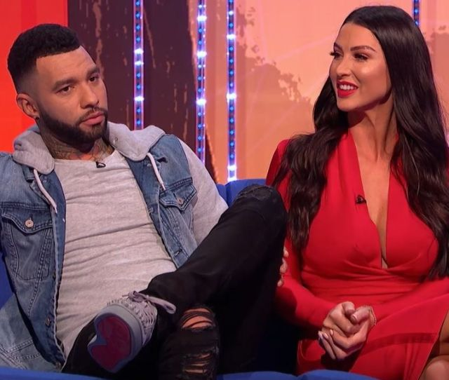 Exclusive Celebrity Big Brothers Jermaine Pennant Talks Ruthless Your Face Or Mine Appearance With Wife Alice Goodwin