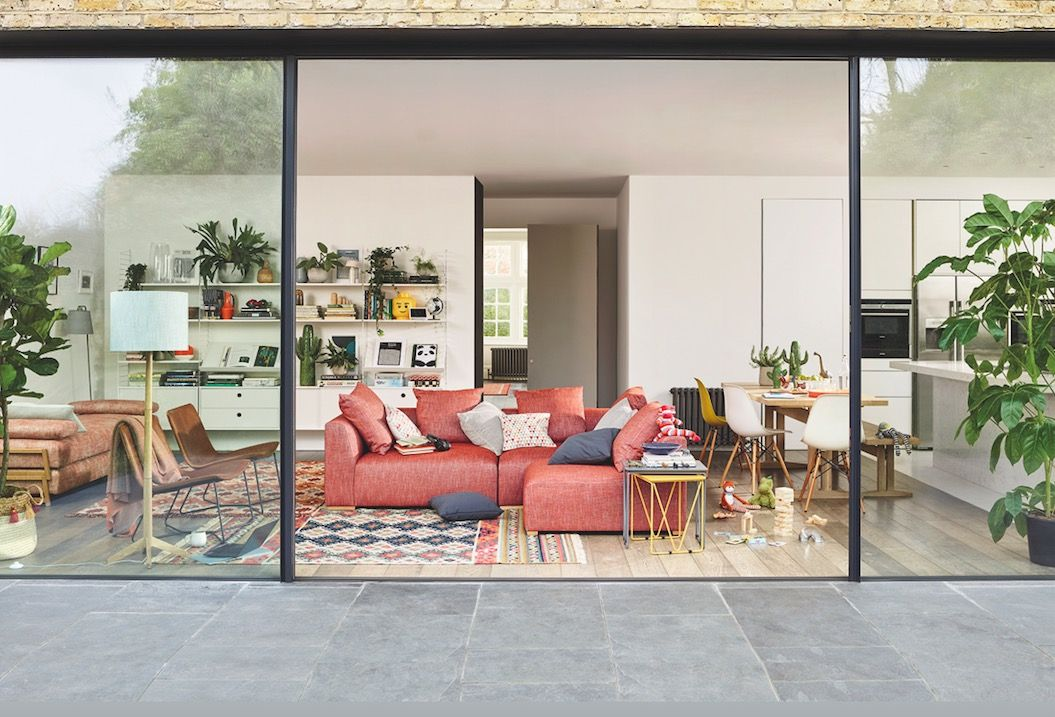 orange living room decorating ideas farmhouse chic replaces kitchen as main of home and pink is the has replaced heart reveals john lewis partners